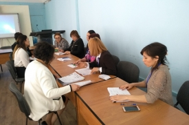 VISIT OF THE EXTERNAL EVALUATION COMMISSION (EEC) TO THE HIGH MEDICAL COLLEGE (Almaty)