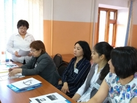 "VISIT OF THE EXTERNAL EVALUATION COMMISSION TO THE INSTITUTION OF ACADEMIC PRODUCTION COMPLEX ""KAZAKHSTAN MEDICAL INSTITUTE OF CONTINUING EDUCATION ""PARASAT"""