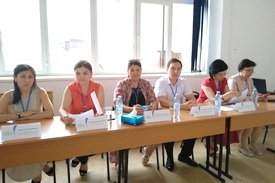 VISIT OF EXTERNAL EVALUATION COMMISSION TO THE RUSSIAN-KAZAKH MEDICAL INSTITUTE LLP