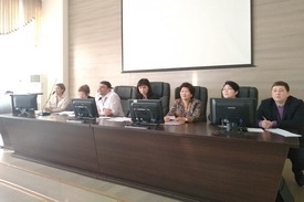 VISIT OF THE EXTERNAL EVALUATION COMMISSION (EEC) TO THE  KAZAKH MEDICAL UNIVERSITY OF CONTINUOUS EDUCATION